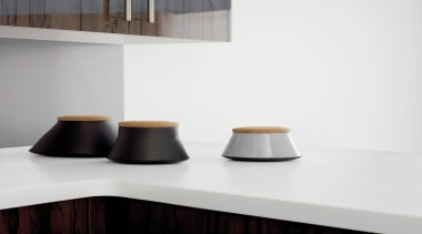 Laminex Solid Surface helps create inspirational interiors with furniture, product design, shelf, table, white