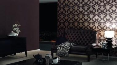Flock III Range - Flock III Range - ceiling, couch, decor, furniture, home, interior design, living room, room, wall, wallpaper, window, black