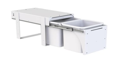 Model KK4F - 2 x 15 litre buckets.Floor furniture, product, product design, white