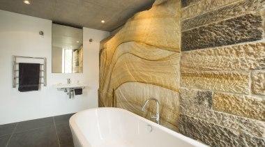 Winner Bathroom of the Year 2013 New South bathroom, floor, flooring, interior design, property, room, tile, wall, brown, white