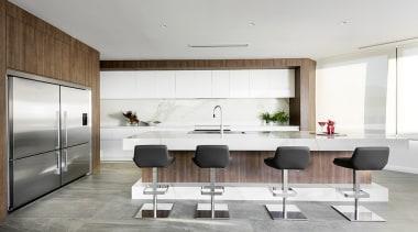 Winner: TIDA International Kitchen of the YearWinner: TIDA floor, house, interior design, kitchen, product design, white