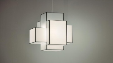 These clean-lined lampshades elegantly merge sculpture and illumination.What light fixture, lighting, lighting accessory, product design, gray