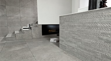 Wire grey interior wall and floor tiles - architecture, floor, flooring, interior design, tile, wall, gray