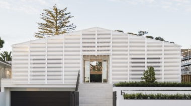 Remuera House - Remuera House - architecture | architecture, building, facade, home, house, roof, siding, white, gray