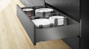 AMBIA-LINE kitchen accessories – organization at its best. drawer, furniture, product, product design, black, white