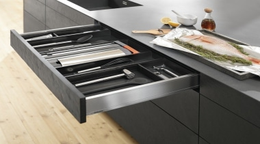 AMBIA-LINE kitchen accessories – organization at its best. furniture, product design, black, white