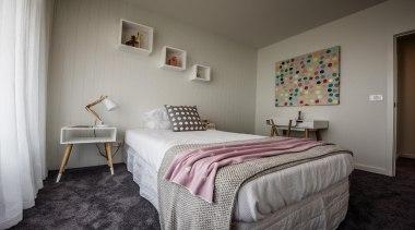 HardieGroove Lining - HardieGroove Lining - bed | bed, bed frame, bedroom, floor, furniture, home, interior design, real estate, room, suite, wall, gray