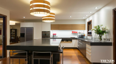 TIDA – Proudly brought to you by Kitchen ceiling, countertop, interior design, kitchen, property, real estate, room, gray, brown