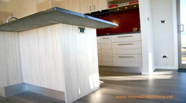 power point on island end panel - power floor, flooring, real estate, wood, white