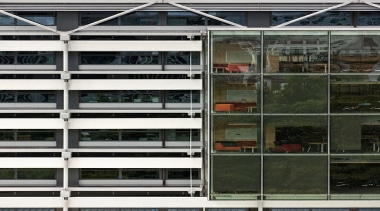 NOMINEEUndergraduate Laboratory 303 Building (2 of 4) architecture, building, city, facade, glass, urban area, window, black