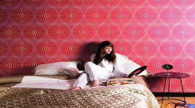Akoya Range - Akoya Range - girl   girl, pink, sitting, textile, wallpaper, red
