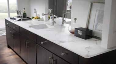 Kairos Wet Bar - Kairos Wet Bar - bathroom accessory, bathroom cabinet, cabinetry, countertop, interior design, kitchen, sink, tap, gray, black