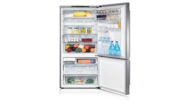 Refrigerator- Bottom Mount SRL448DLSThe Barosa Series refrigerator comes home appliance, kitchen appliance, major appliance, product, refrigerator, white