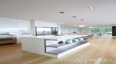 Lucerne Road - Lucerne Road - architecture | architecture, countertop, floor, home, house, interior design, kitchen, living room, real estate, gray, white