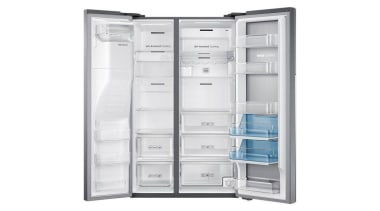 Refrigerator – Side By Side – SRS636SCLS Organize home appliance, kitchen appliance, major appliance, product, product design, refrigerator, white