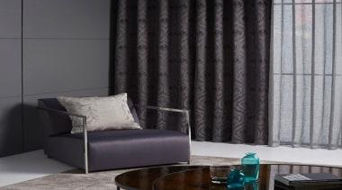 Antonia 1 - curtain | decor | floor curtain, decor, floor, interior design, living room, shade, textile, wall, window, window blind, window covering, window treatment, gray, black