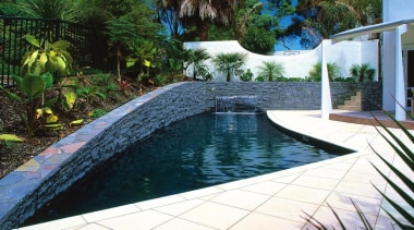 Residential - Residential - backyard | estate | backyard, estate, landscaping, leisure, outdoor structure, pond, property, real estate, resort, swimming pool, water, water feature, water resources, watercourse, yard