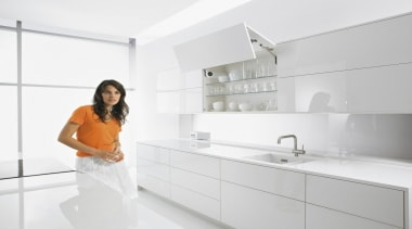 SERVO-DRIVE for AVENTOS - bathroom   countertop   bathroom, countertop, interior design, kitchen, plumbing fixture, product design, room, sink, tap, white