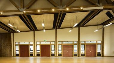 BEST IN CATEGORYTe Uru Taumatua (4 of 4) architecture, ceiling, daylighting, function hall, interior design, lighting, lobby, structure, wood, brown, orange
