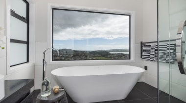 Landmark Homes Fitzroy Design Bathroom - Landmark Homes bathroom, interior design, property, real estate, room, window, gray