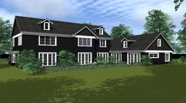 23 renosunnyside1 - Renosunny Side1 - building | building, cottage, elevation, estate, facade, farmhouse, home, house, landscape, property, real estate, residential area, siding, suburb, brown
