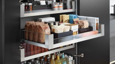 SPACE TOWER with LEGRABOX - furniture | product furniture, product, shelf, shelving, black