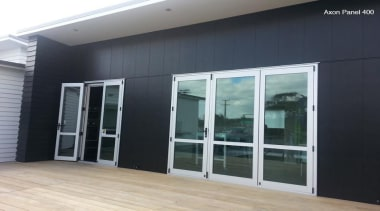 Axon Panel - Axon Panel - door | door, facade, glass, real estate, window, black, gray