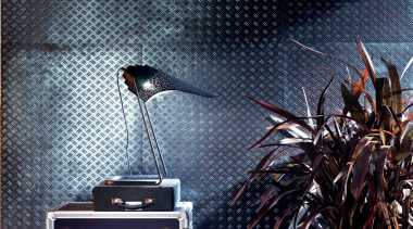 The Diesel Living ceramics collection includes the Stage blue, black
