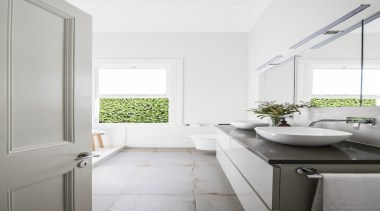 See more from Design Haus architecture, bathroom, bathroom accessory, daylighting, floor, home, house, interior design, plumbing fixture, room, sink, tap, window, white