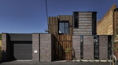 RTAA Award winning project featuring Monier Terracotta Nullarbor architecture, building, facade, home, house, real estate, residential area, wood, blue, black