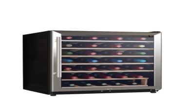 45-Bottles Wine CoolerCapacity: 130L, holds 45 BottlesTemperature Range: product, white