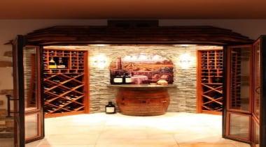 Modern Wine Cellar Ideas - Modern Wine Cellar interior design, wine cellar, winery, red, brown