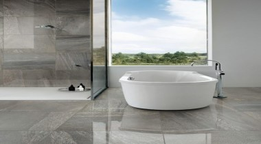 Galena bathroom floor and shower tiles - Mineral bathroom, bathroom accessory, bidet, ceramic, floor, flooring, interior design, plumbing fixture, tap, tile, toilet seat, gray