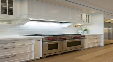 Kitchen - cabinetry   countertop   cuisine classique cabinetry, countertop, cuisine classique, floor, flooring, home appliance, interior design, kitchen, room, gray