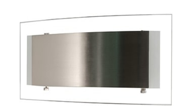 FeaturesA contemporary style incorporating a combination of clear angle, product design, white