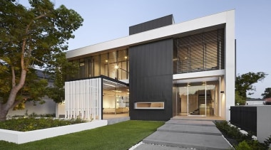 TIDA Australian Architect-Designed New Home - New Home architecture, building, elevation, facade, home, house, property, real estate, residential area, siding, brown, white