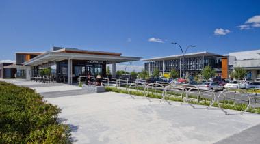 RCGRetail Property Award –Excellence Award Takanini Village is mixed use, real estate, walkway, blue