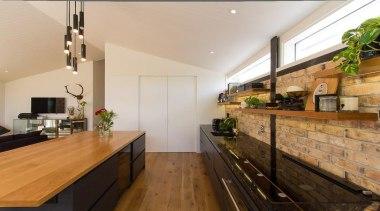 John St. 7 - countertop   interior design countertop, interior design, kitchen, real estate, gray, brown
