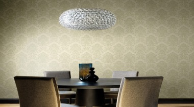 New Belaggio Range - New Belaggio Range - ceiling, interior design, lamp, lampshade, light fixture, lighting, lighting accessory, living room, product design, table, wall, wallpaper, brown