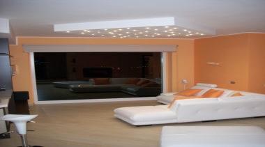 LED Lights - ceiling   floor   flooring ceiling, floor, flooring, furniture, home, interior design, living room, room, gray, brown