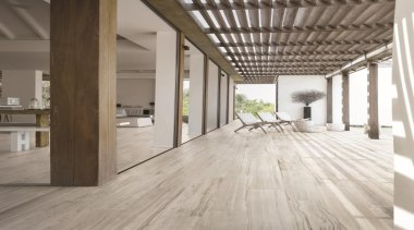 Suitable for use in private,public and retail locations,natural-look architecture, daylighting, floor, flooring, hardwood, interior design, laminate flooring, loft, tile, wood, wood flooring, gray