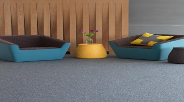 This low level loop pile has a colour angle, chair, couch, floor, flooring, furniture, hardwood, interior design, laminate flooring, product, product design, table, tile, wall, wood, gray