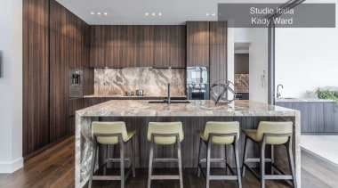 Highly Commended – Studio Italia, Kady Ward – cabinetry, countertop, cuisine classique, interior design, kitchen, real estate, gray