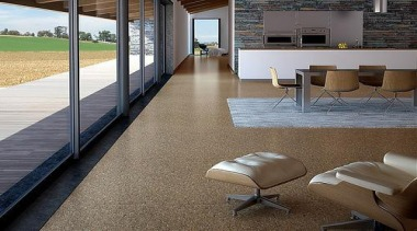 Cork Comfort - Originals Natural - Cork Comfort architecture, daylighting, floor, flooring, furniture, hardwood, house, interior design, laminate flooring, real estate, table, tile, window, wood, wood flooring, gray, brown