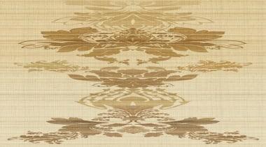 Grand Etoile - Venetian Damask Range - brown brown, design, pattern, orange, yellow