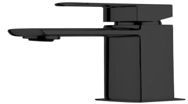 Sprint Black Basin Mixer SBK020 - Sprint Black hardware, product, product design, technology, white, black