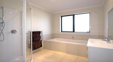 For more information, please visit www.gjgardner.co.nz bathroom, floor, home, interior design, property, real estate, room, sink, window, gray