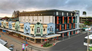 Unimed Project – Commercial165 Gloucester Street, Christchurch – building, city, mixed use, neighbourhood, gray
