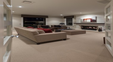 Mellons Bay 11 - ceiling   floor   ceiling, floor, flooring, hardwood, interior design, laminate flooring, living room, real estate, room, wood flooring, gray