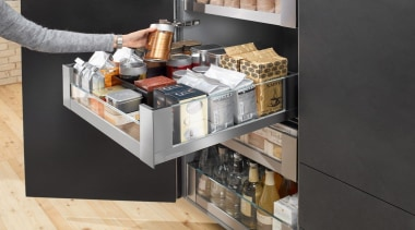 SPACE TOWER with LEGRABOX - furniture | table furniture, table, black